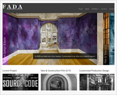 Fada Inc Web Design